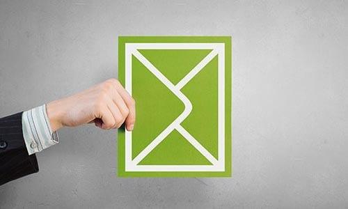 enveloppe représentant l'envoi d'e-mailing