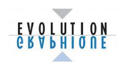 logo entreprise évolution graphique