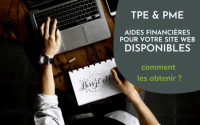 TPE et PME : aides financières de la Région pour votre site web, jusqu'à 6000€ HT